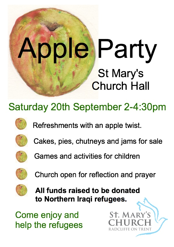 Apple day Poster