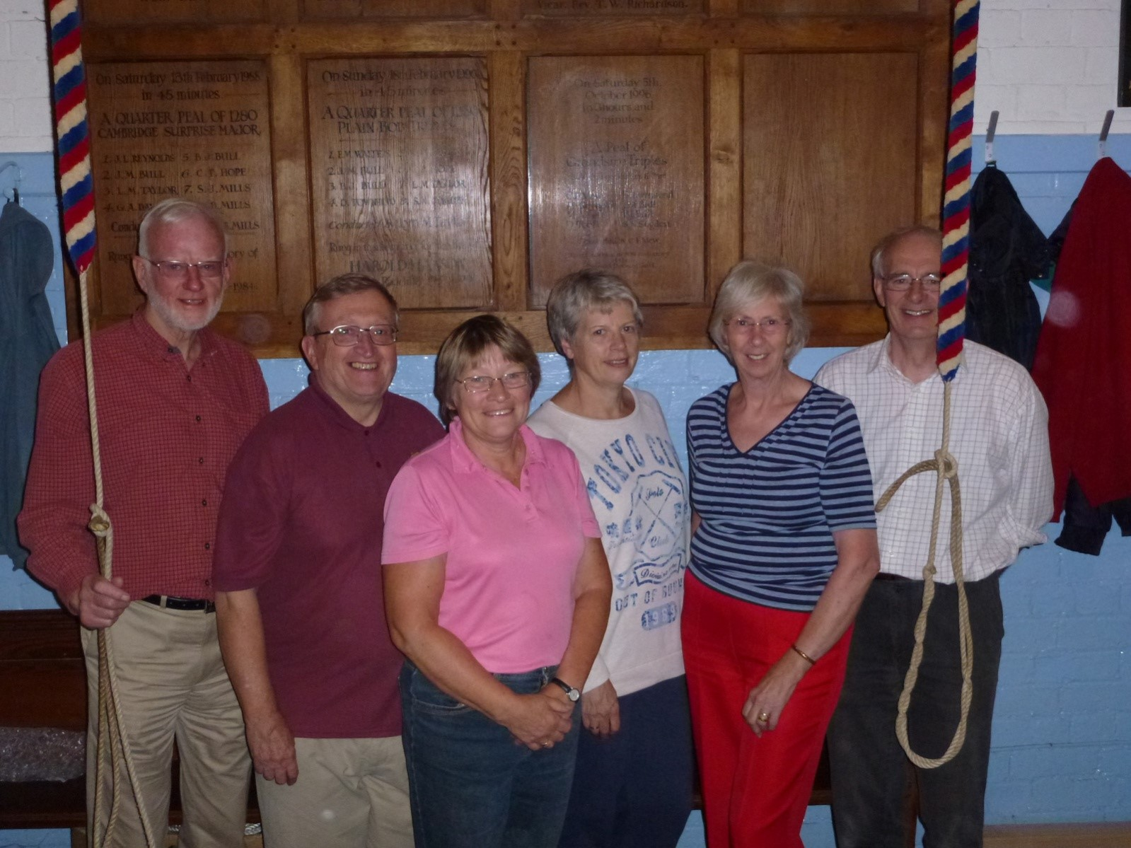 Some of the current ringers