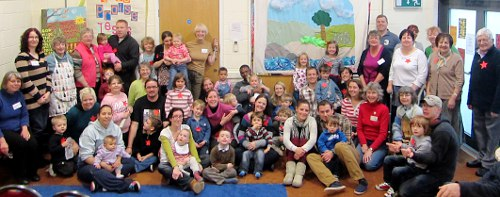 Messy Church group photo